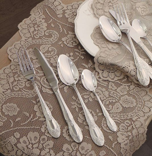 Set 24 posate Vintage shabby chic Angelica Home & Country